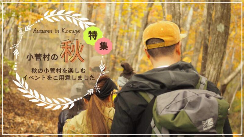 秋の小菅村特集
